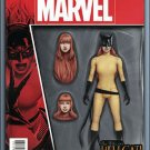 Patsy Walker AKA Hellcat #1 John Tyler Christopher Action Figure Cover [2016] VF/NM Marvel Comics