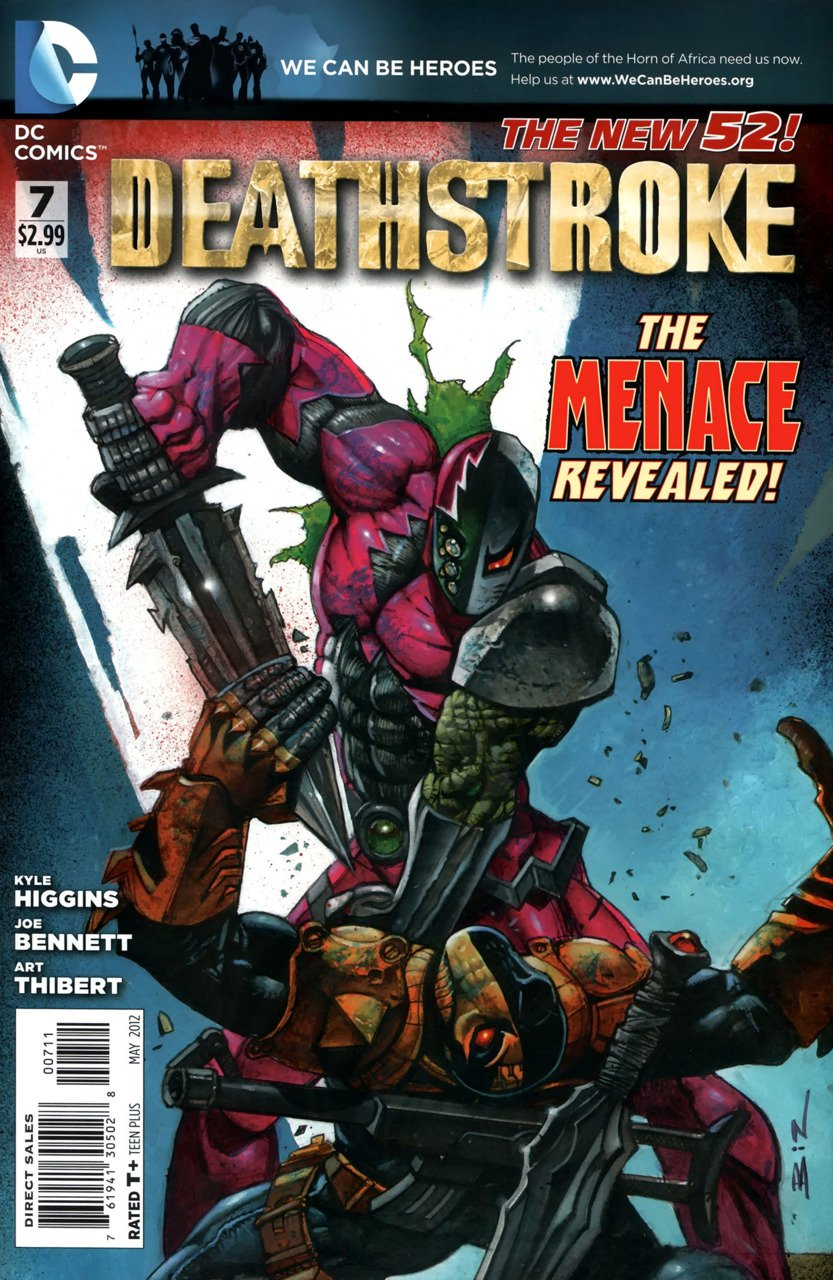 Deathstroke #07 [Vol 1]  VF/NM (2011) The New 52!