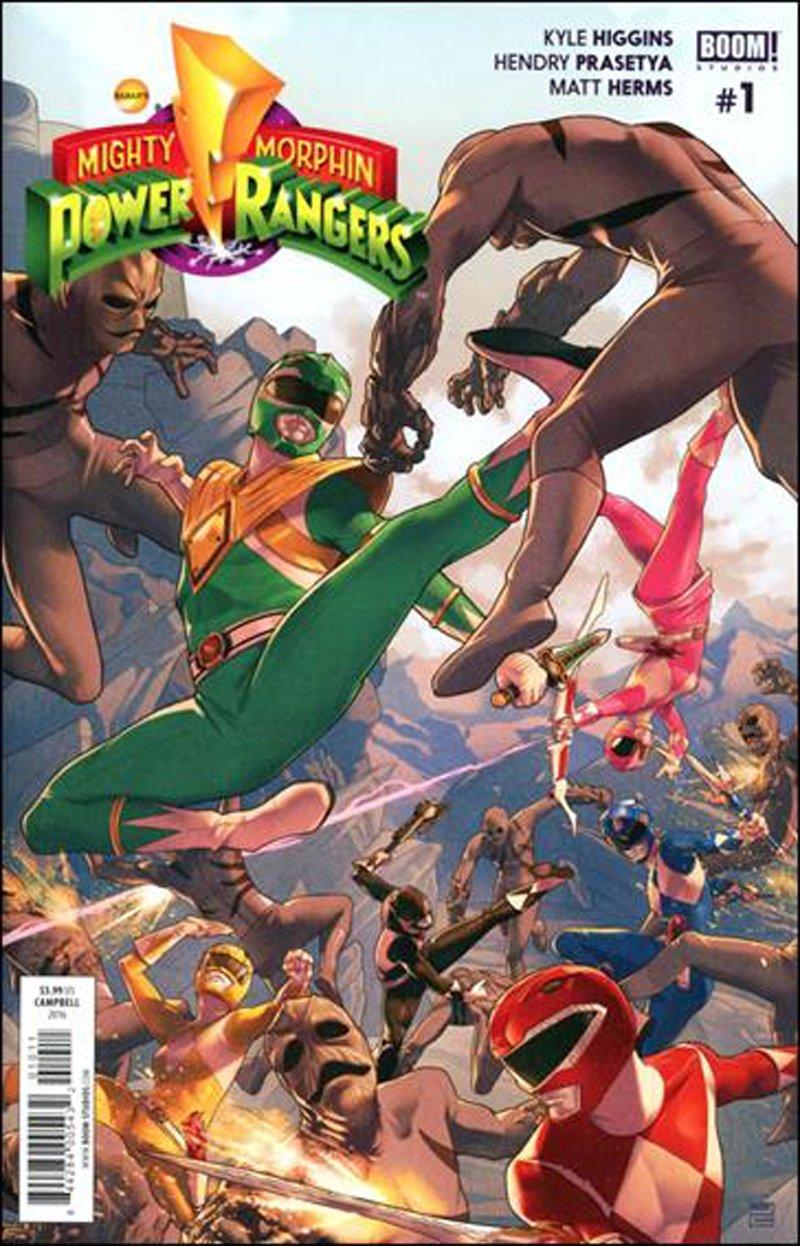 Mighty Morphin Power Rangers #1 [2016] VF/NM Boom Studios Comics