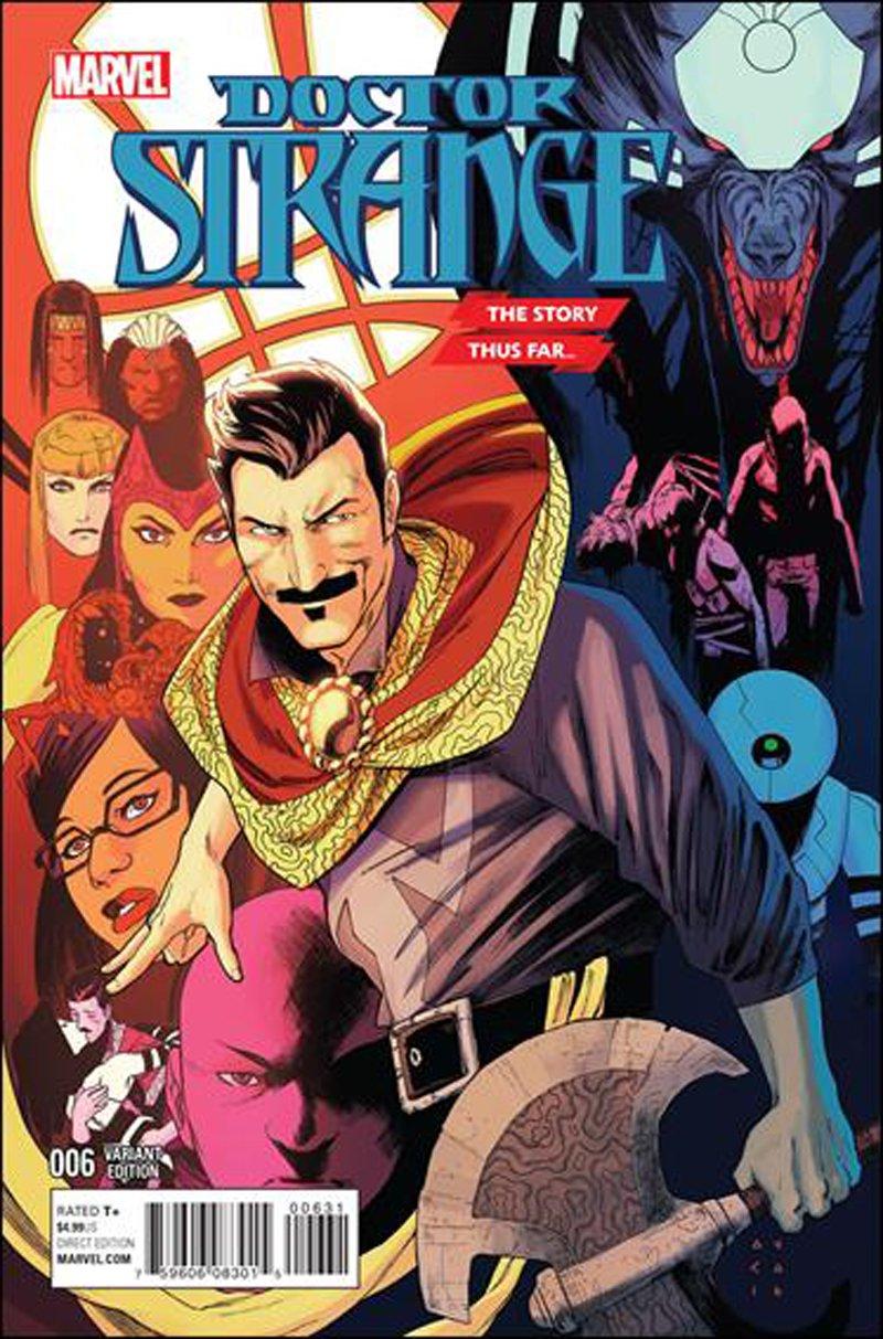 Doctor Strange #6 Kris Anka The Story Thus Far... Variant Cover [2016] VF/NM Marvel Comics
