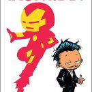 International Iron Man #1 Skottie Young Baby Variant Cover [2016] VF/NM Marvel Comics