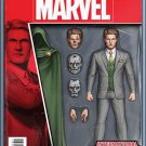 International Iron Man #1 Action Figure Variant Cover [2016] VF/NM Marvel Comics