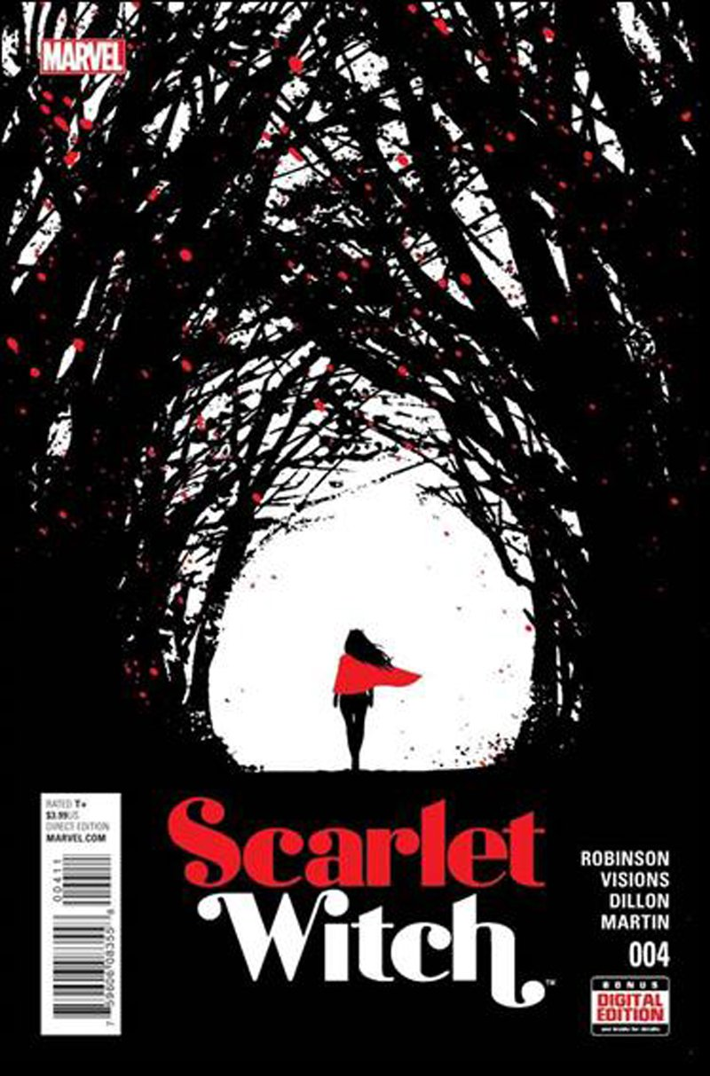 Scarlet Witch #4 [2016] VF/NM Marvel Comics