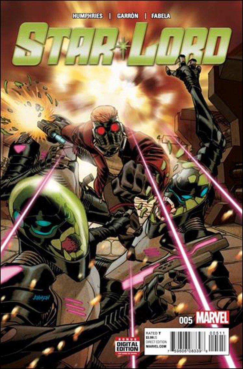 Star-Lord #5 [2016] VF/NM Marvel Comics