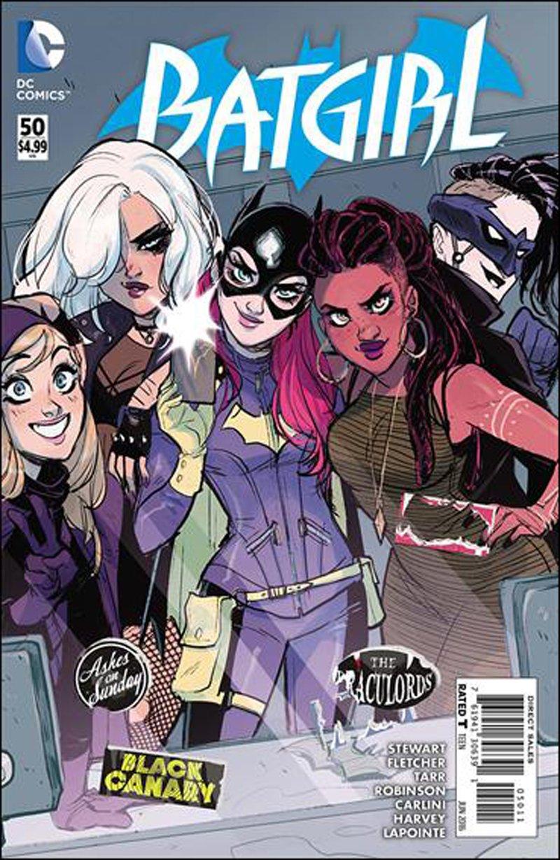 Batgirl #50 [2016] VF/NM DC Comics