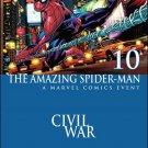 Amazing Spider-Man #10 Civil War Variant Cover [2016] VF/NM Marvel Comics