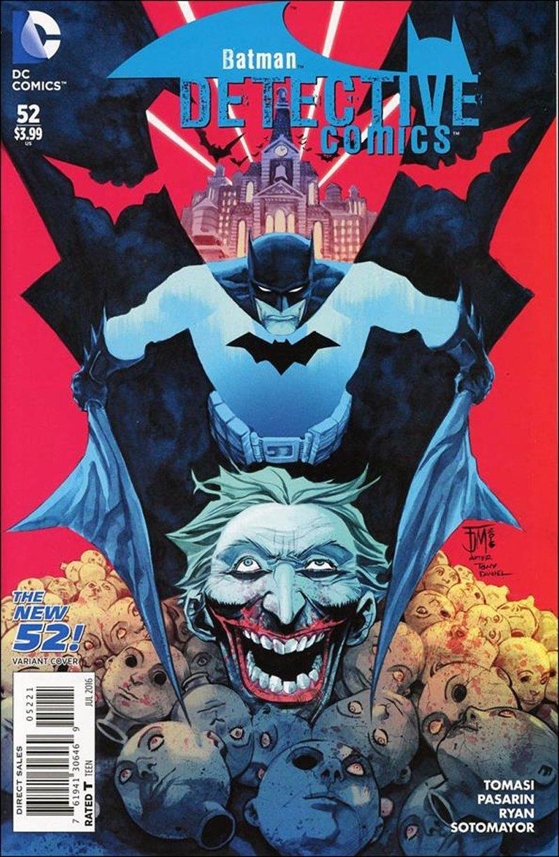 Detective Comics #52 Francis Manapul New 52 Homage Variant Cover [2016] VF/NM DC Comics