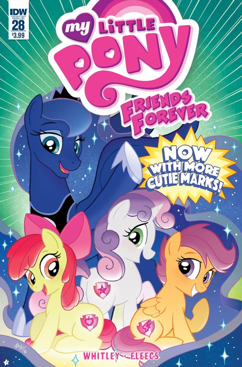 My Little Pony: Friends Forever #28 [2016] VF/NM IDW Comics