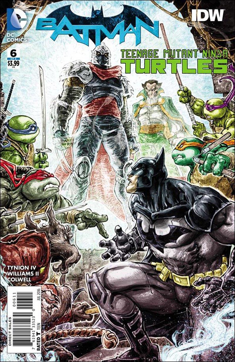Batman / Teenage Mutant Ninja Turtles #6 of 6 [2016] VF/NM DC IDW Comics