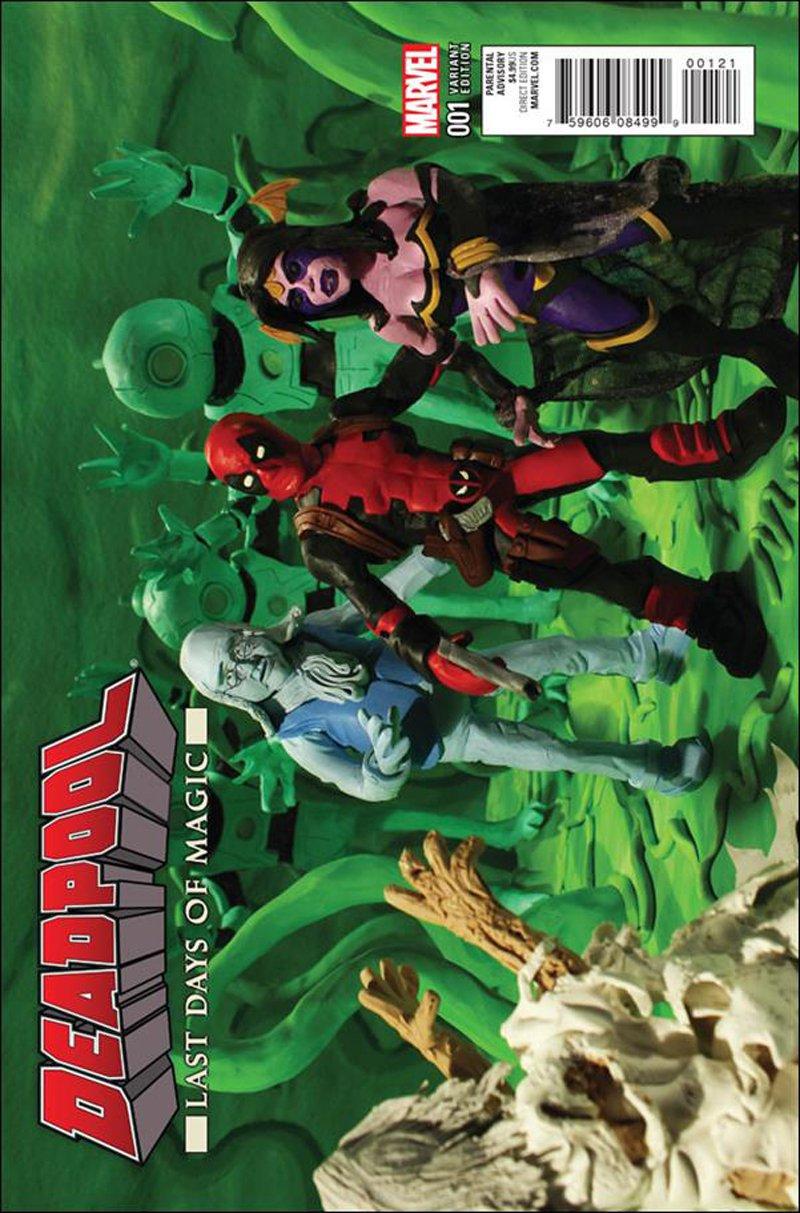 Deadpool: Last Days of Magic #1 Mr. OZ Claymation Variant Cover [2016] VF/NM Marvel Comics