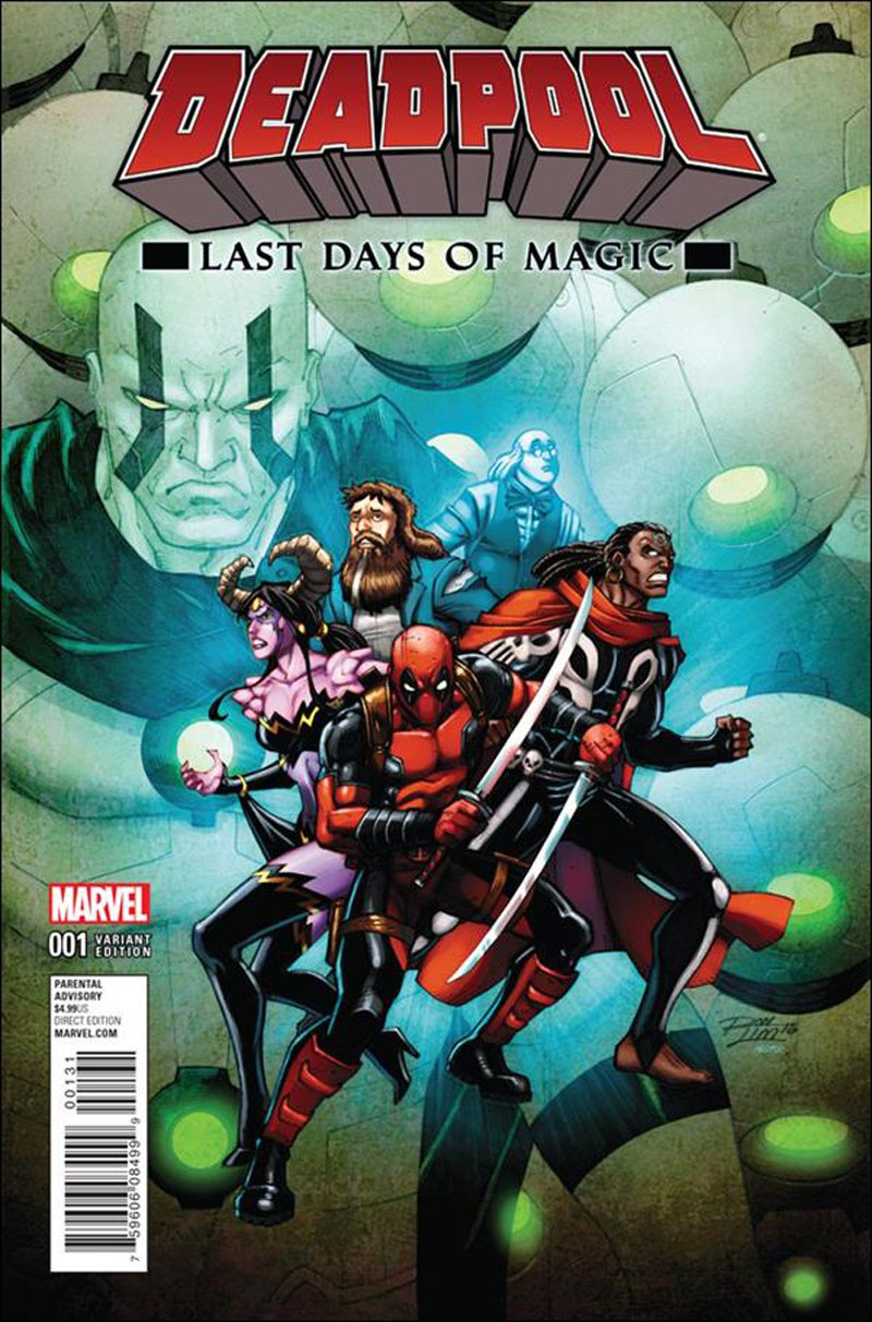 Deadpool: Last Days of Magic #1 Ron Lim Variant Cover [2016] VF/NM Marvel Comics