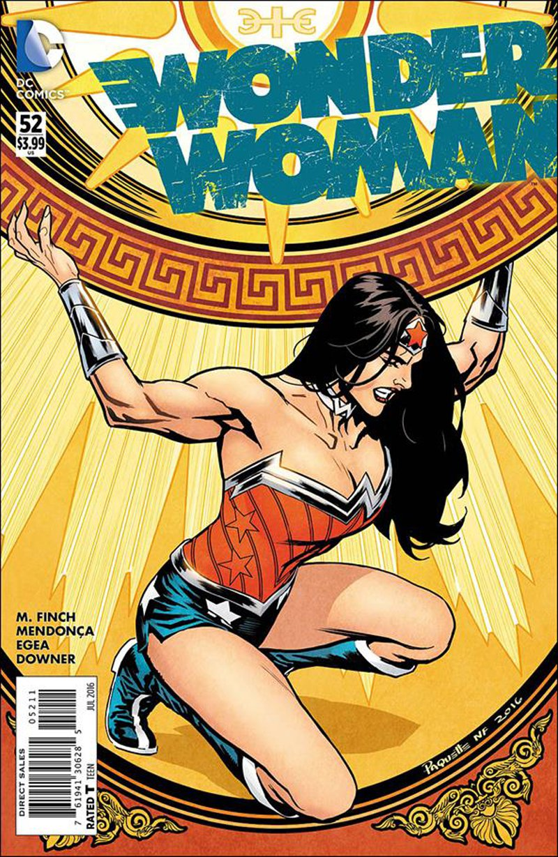 Wonder Woman #52 [2016] VF/NM DC Comics