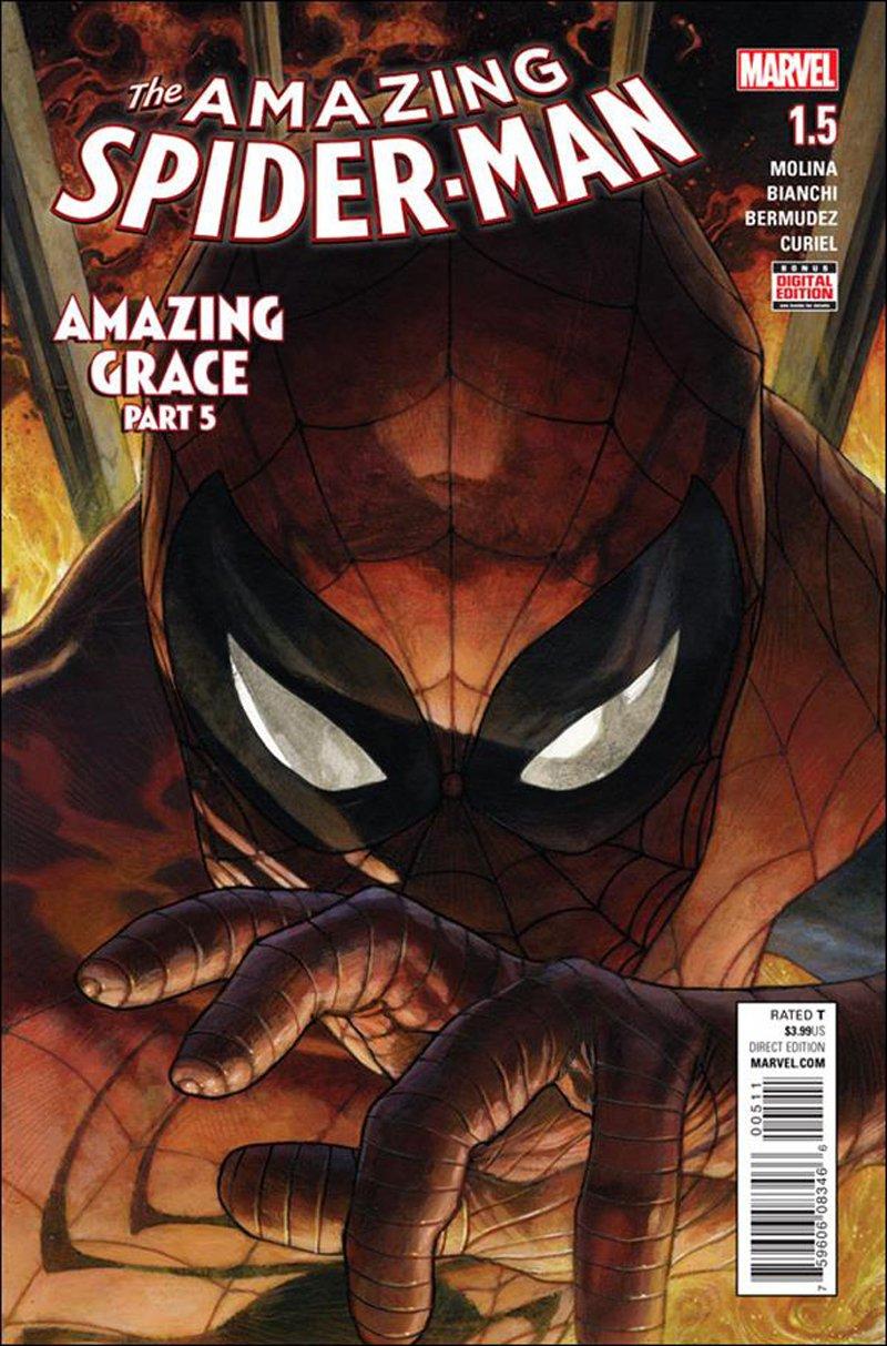 Amazing Spider-Man #1.5 [2016] VF/NM Marvel Comics