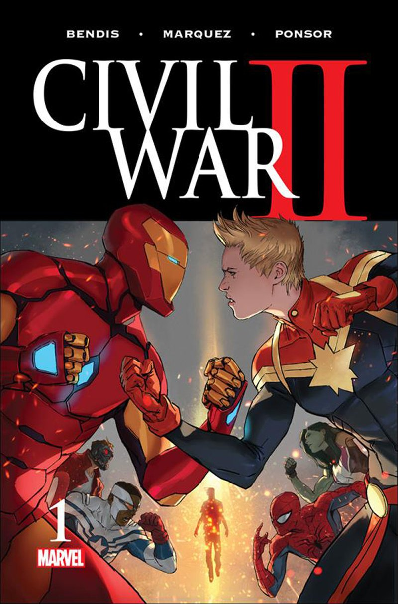Civil War II #1 [2016] VF/NM Marvel Comics