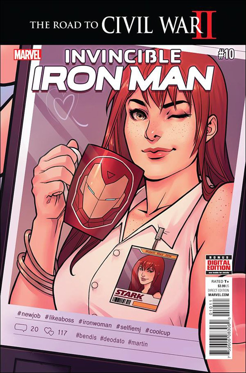 Invincible Iron Man #10 [2016] VF/NM Marvel Comics