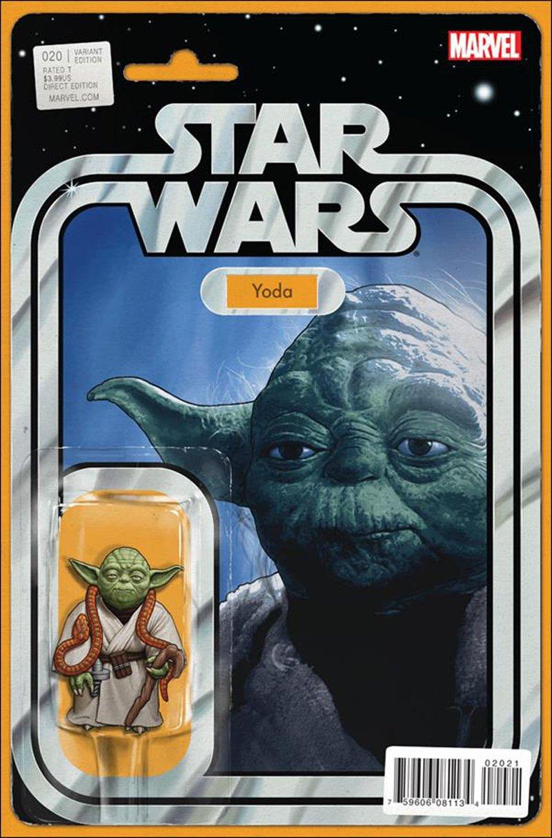 Star Wars #20 John Tyler Christopher Action Figure Variant Cover [2016] VF/NM Marvel Comics