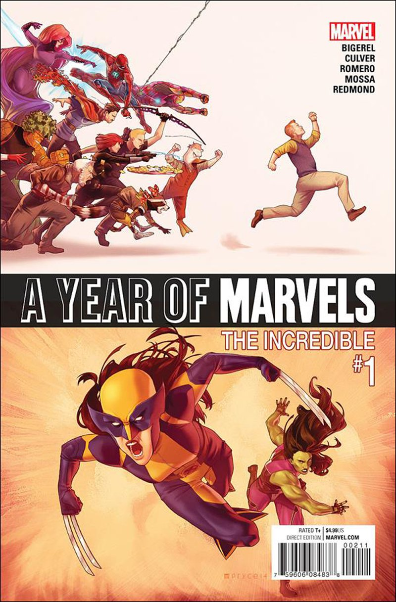 Year of Marvels: The Incredible #1 [2016] VF/NM Marvel Comics
