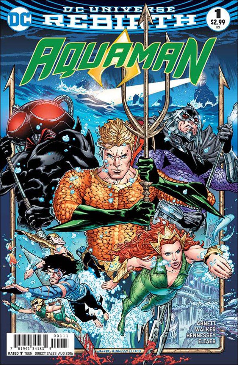 Aquaman #1 [2016] VF/NM DC Comics