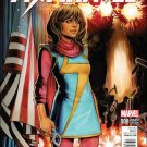 Ms. Marvel #8 Siya Oum Civil War Reenactment Variant Cover [2016] VF/NM Marvel Comics