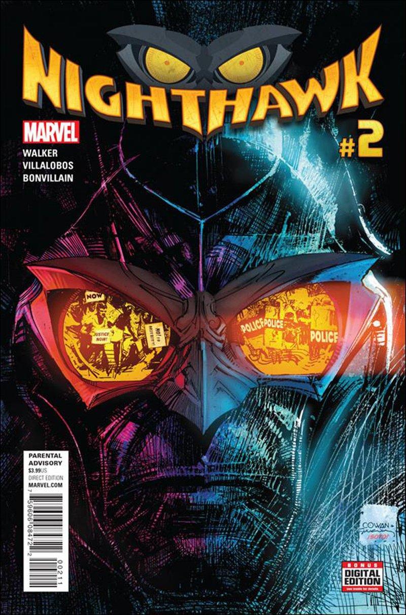 Nighthawk #2 [2016] VF/NM Marvel Comics