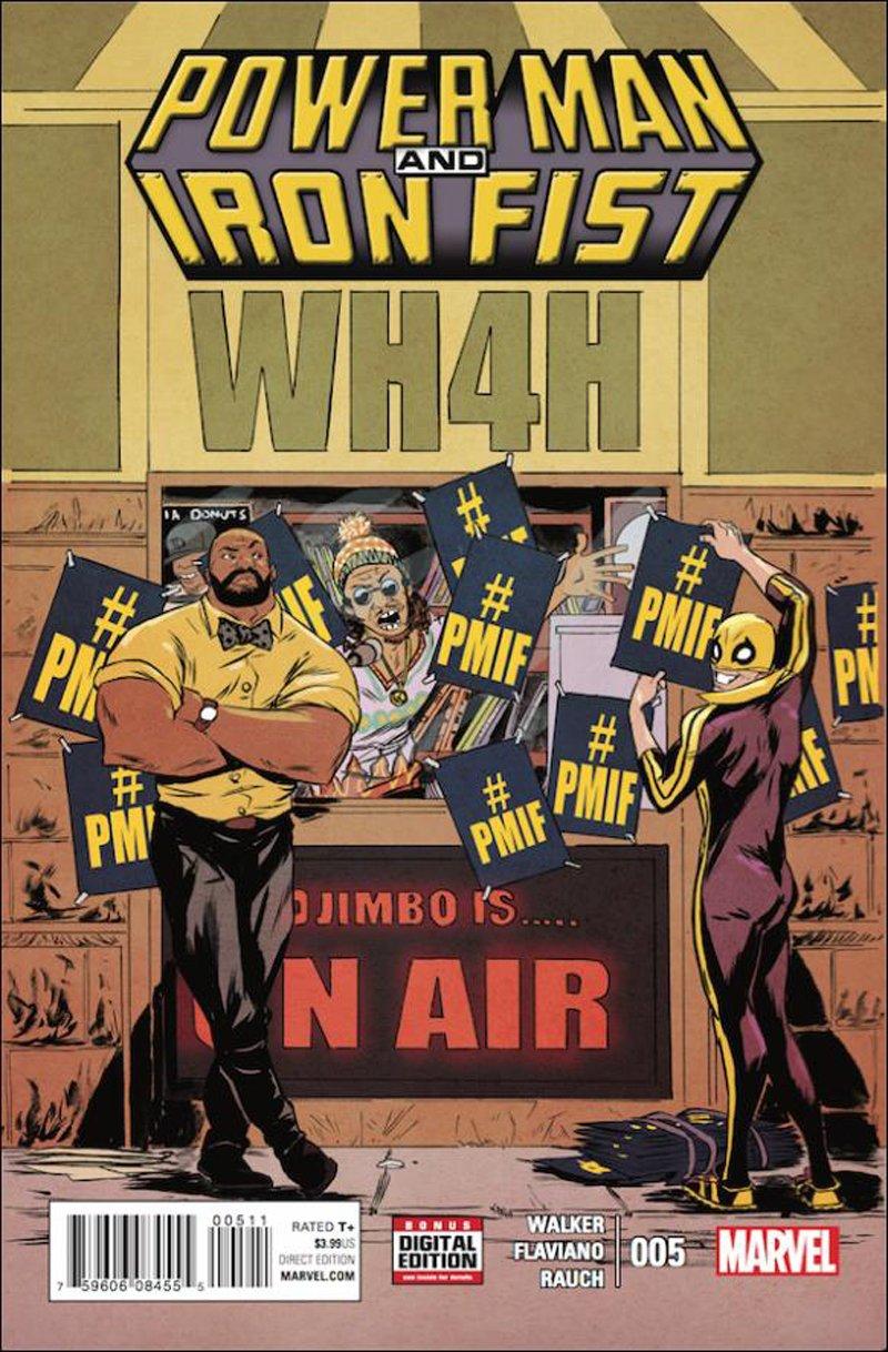 Power Man and Iron Fist #5 [2016] VF/NM Marvel Comics
