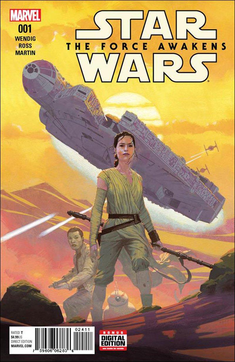 Star Wars: The Force Awakens Adaptation #1 [2016] VF/NM Marvel Comics