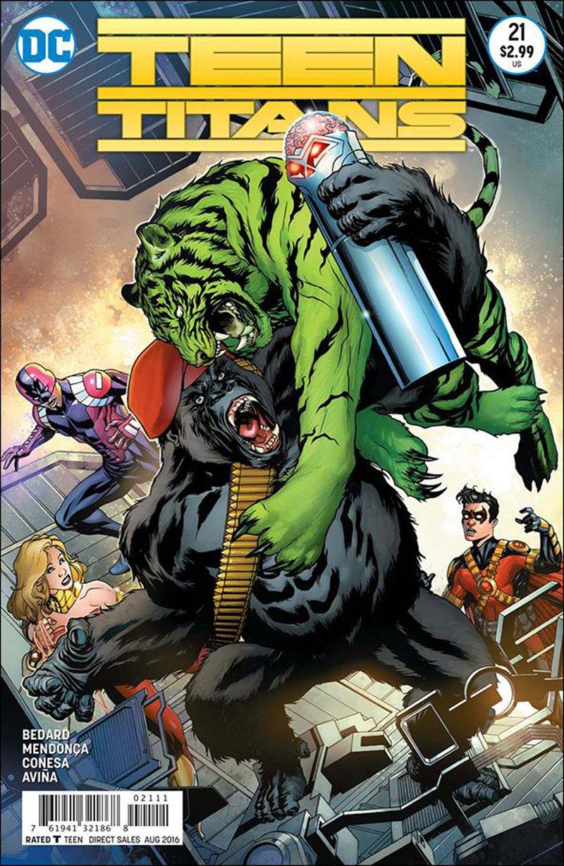 Teen Titans #21 [2016] VF/NM DC Comics