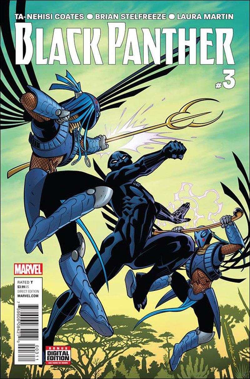 Black Panther #3 [2016] VF/NM Marvel Comics