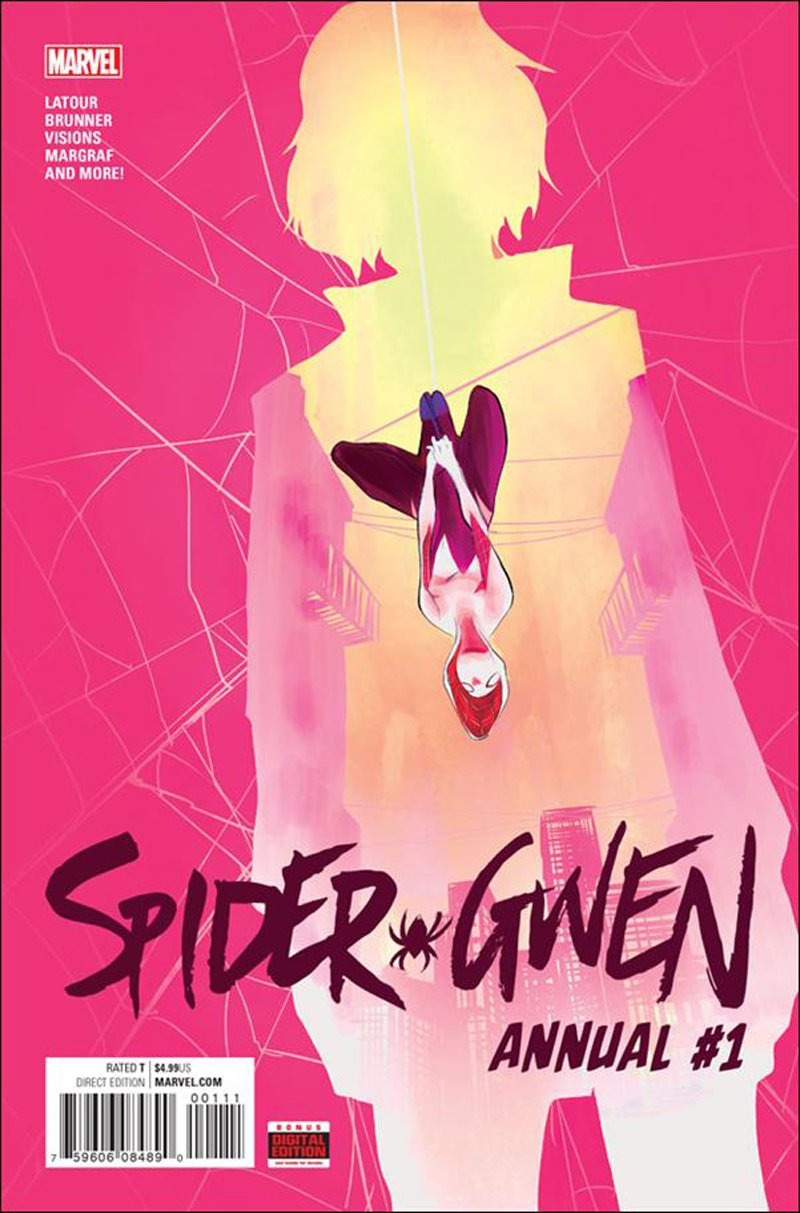 Spider-Gwen Annual #1 [2016] VF/NM Marvel Comics