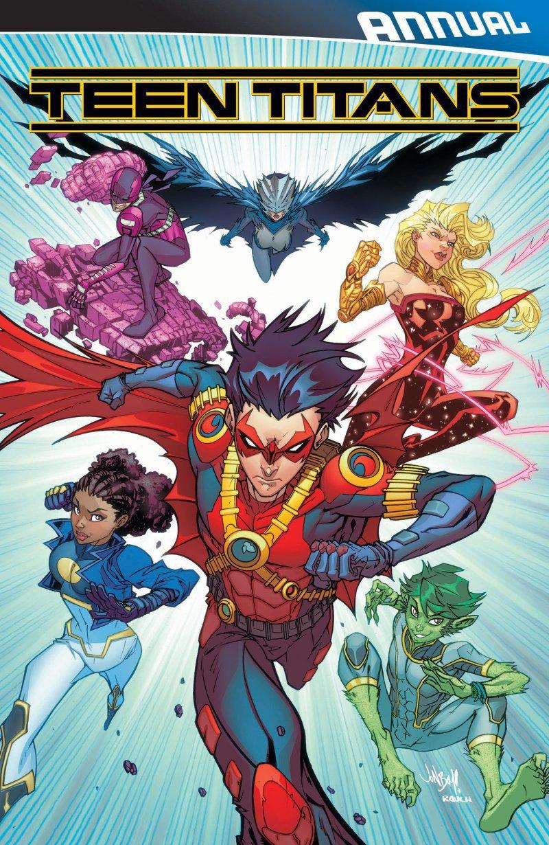 Teen Titans Annual #2 [2016] VF/NM DC Comics