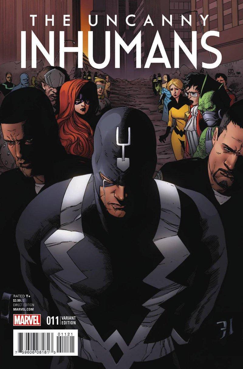 Uncanny Inhumans #11 Civil War Reenactment Variant Cover [2016] VF/NM Marvel Comics