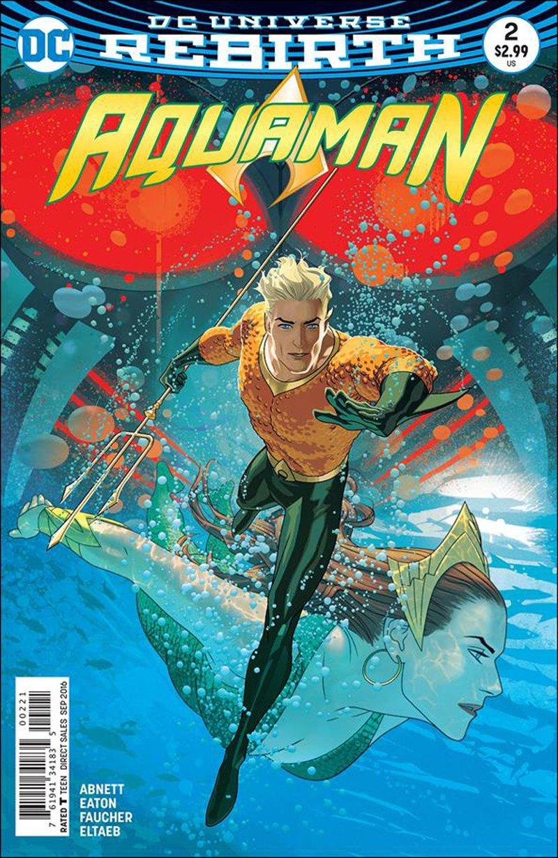 Aquaman #2 Joshua Middleton Variant Cover [2016] VF/NM DC Comics