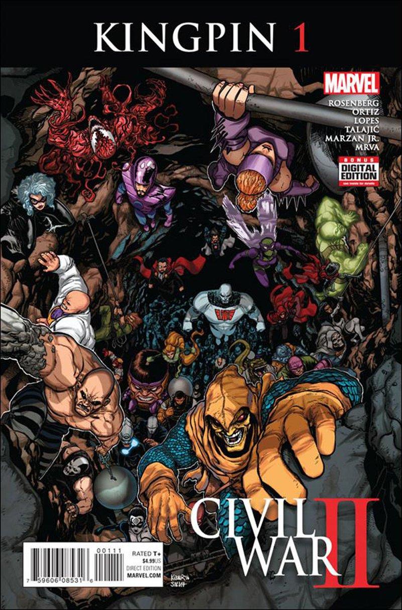 Civil War II: Kingpin #1 [2016] VF/NM Marvel Comics