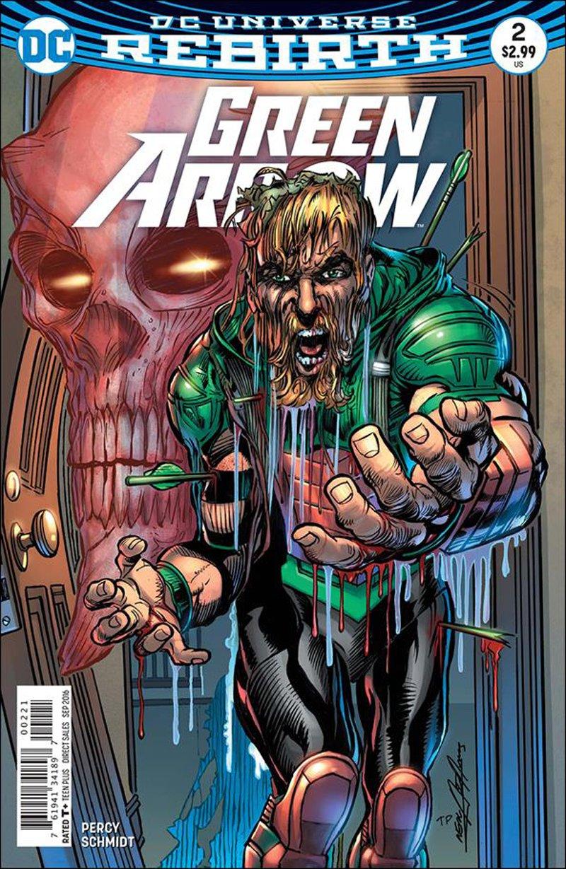 Green Arrow #2 Neal Adams Variant Cover [2016] VF/NM DC Comics