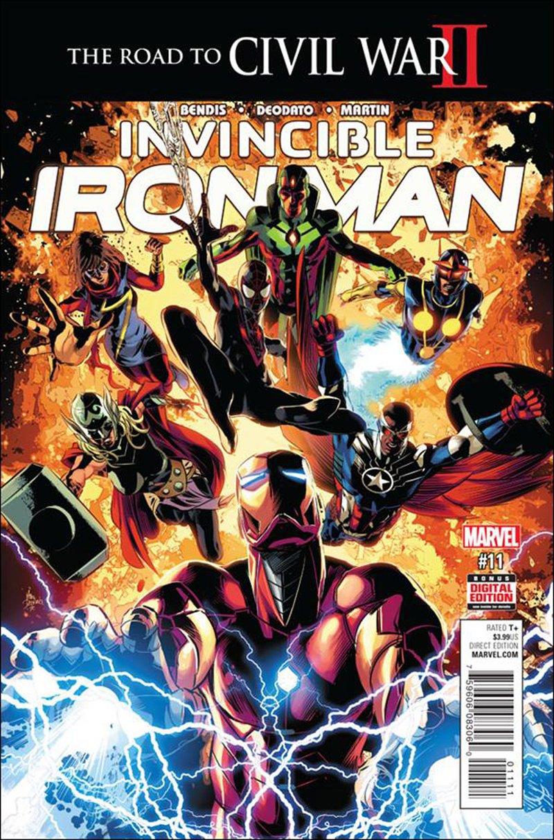 Invincible Iron Man #11 [2016] VF/NM Marvel Comics