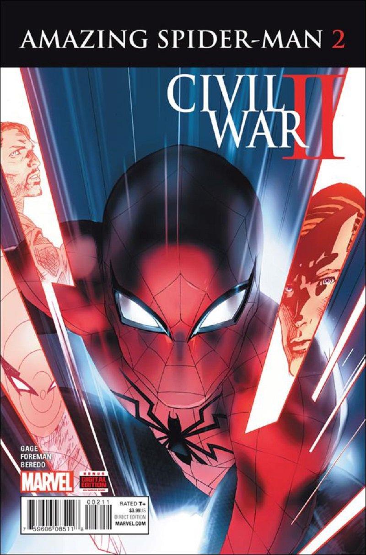 Civil War II: Amazing Spider-Man #2 [2016] VF/NM Marvel Comics