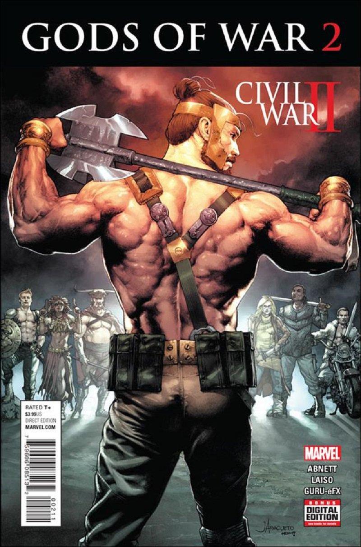 Civil War II: Gods of War #2 [2016] VF/NM Marvel Comics