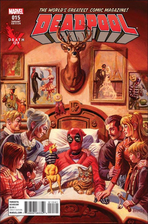 Deadpool #15 Dan Brereton Death of X Variant Cover [2016] VF/NM Marvel Comics