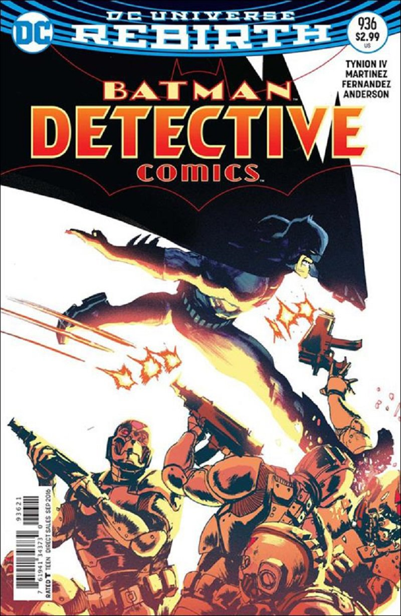 Detective Comics #936 Rafael Albuquerque Variant Cover [2016] VF/NM DC Comics