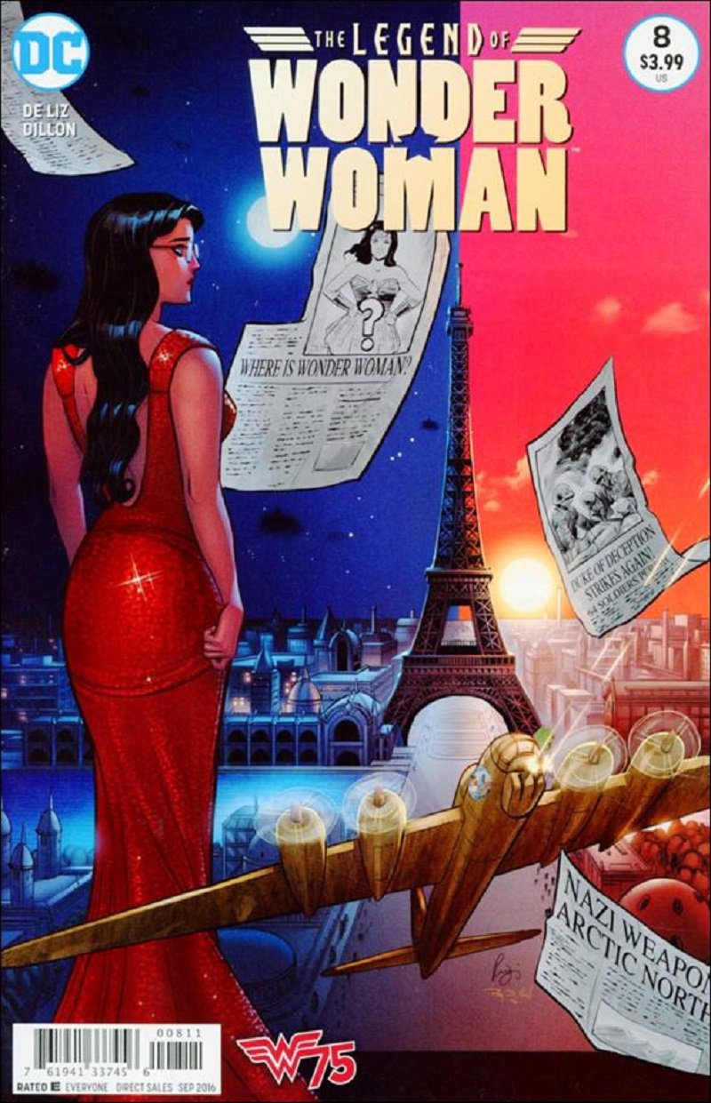 Legend of Wonder Woman #8 [2016] VF/NM DC Comics
