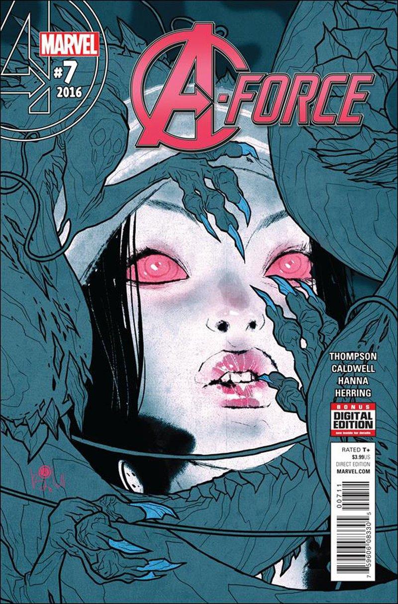A-Force #7 [2016] VF/NM Marvel Comics