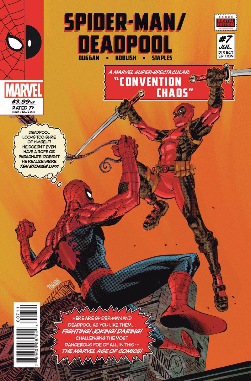 Spider-Man / Deadpool #7 [2016] VF/NM Marvel Comics