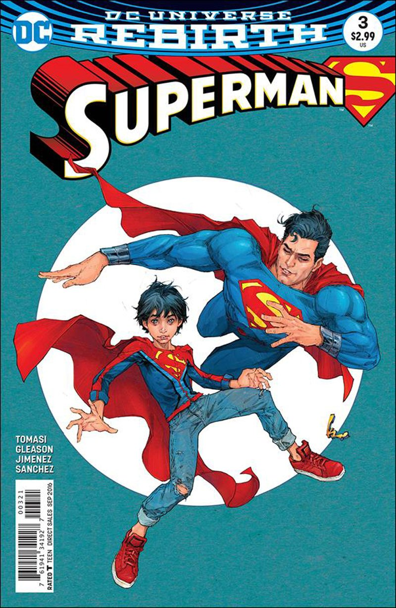 Superman #3 Kenneth Rocafort Variant Cover [2016] VF/NM DC Comics