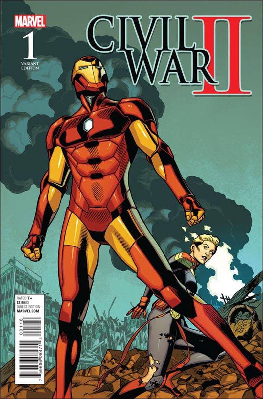 Civil War II #1 Chris Sprouse 1:15 Battle Cover[2016] VF/NM Marvel Comics