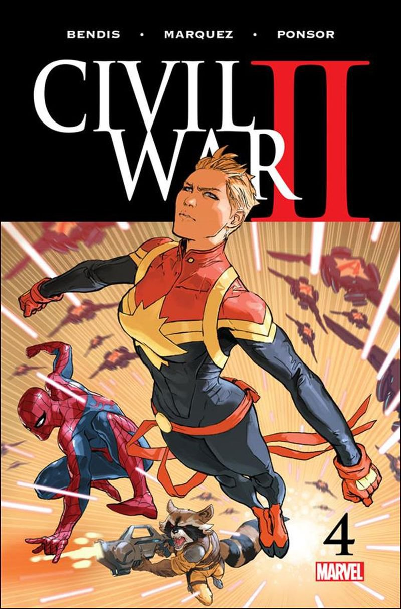 Civil War II #4 [2016] VF/NM Marvel Comics