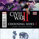 Civil War II: Choosing Sides #3 [2016] VF/NM Marvel Comics
