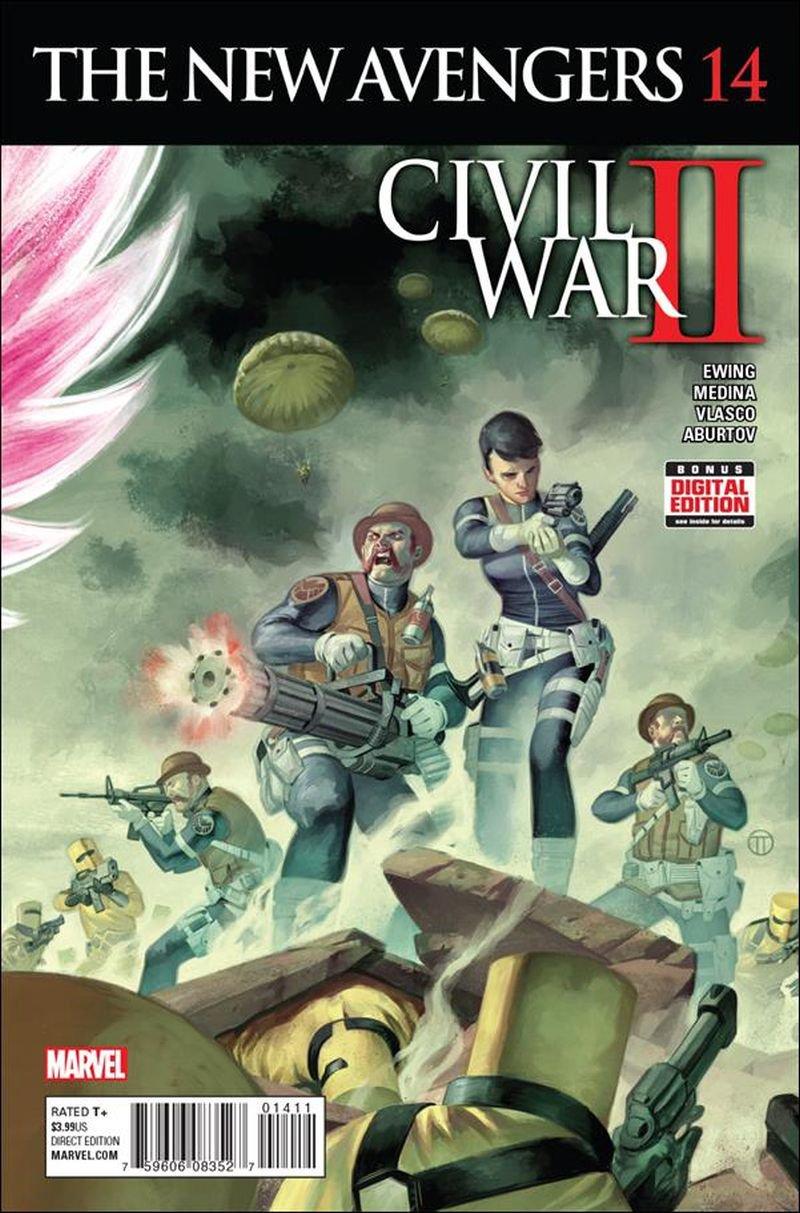 New Avengers #14 [2016] VF/NM Marvel Comics