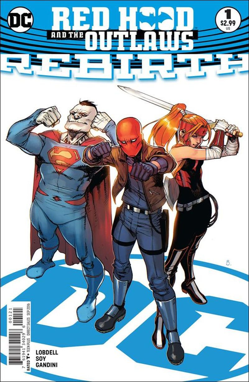 Red Hood and the Outlaws Rebirth #1 [2016]  Bengal Cover VF/NM DC Comics
