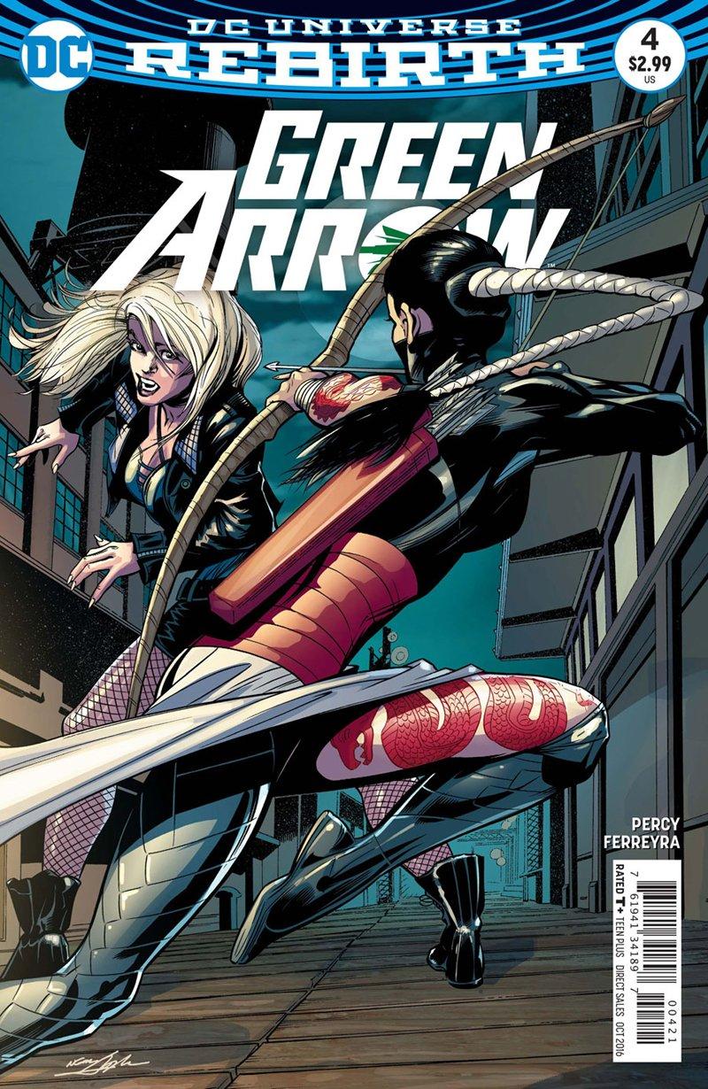 Green Arrow #4 Neal Adams Variant Cover [2016] VF/NM DC Comics