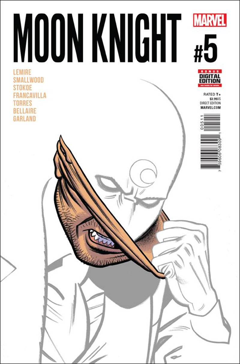 Moon Knight #5 [2016] VF/NM Marvel Comics
